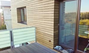Placare cu lemn -fatade
