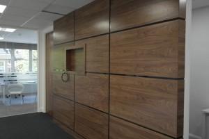 Placare interiora cu lemn furniruit